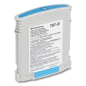 Cyan Ink Cartridge (Standard) for SendPro<sup>®</sup> P / Connect+<sup>®</sup> Series Mailing Systems