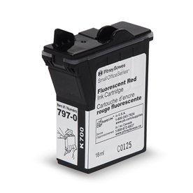 Red Ink Cartridge for mailstation™ postage meters
