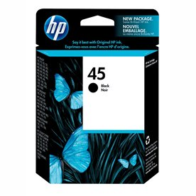 HP 51645A Black HP 45 Ink Cartridge